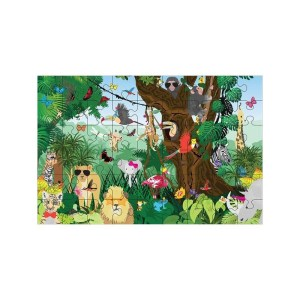 Floss & Rock - Puzzle 54 Peças - A Selva