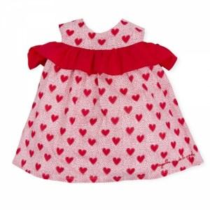 Agatha Ruiz de La Prada - Vestido Corações Vermelho