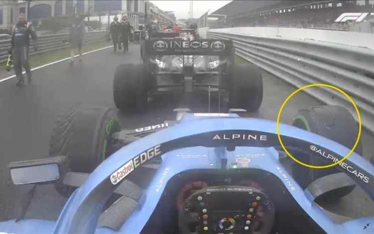 Le gomme intermedie sono durate per gran parte della gara. Esteban Ocon ha avuto l'opportunità di completare l'intero Gran Premio senza doversi preoccupare di fare un pit stop, cosa che non accadeva da quasi 30 anni.