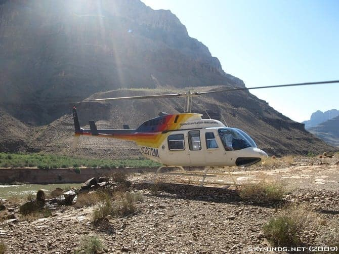 Excursion au Grand Canyon : en avion, hélicoptère et bateau photo 31