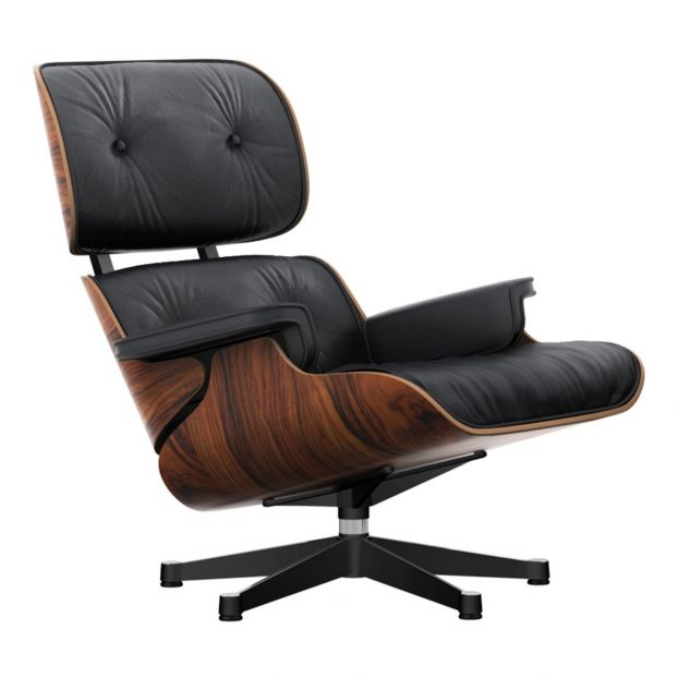 Vintage eames vitra la chaise chair, original, fiberglass first generation, 1993. Rosewood Lounge Chair Charles Ray Eames 1956 Rosewood Vitra