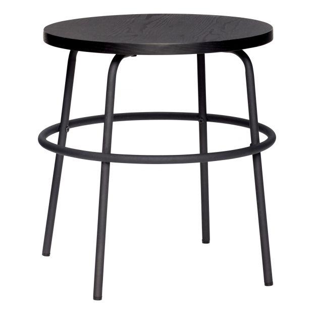 Wooden Side Table Black Hubsch Design Adult