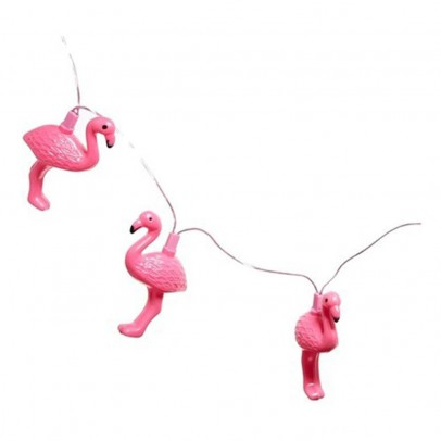 Pink Flamingo String Lights Kitsch Kitchen
