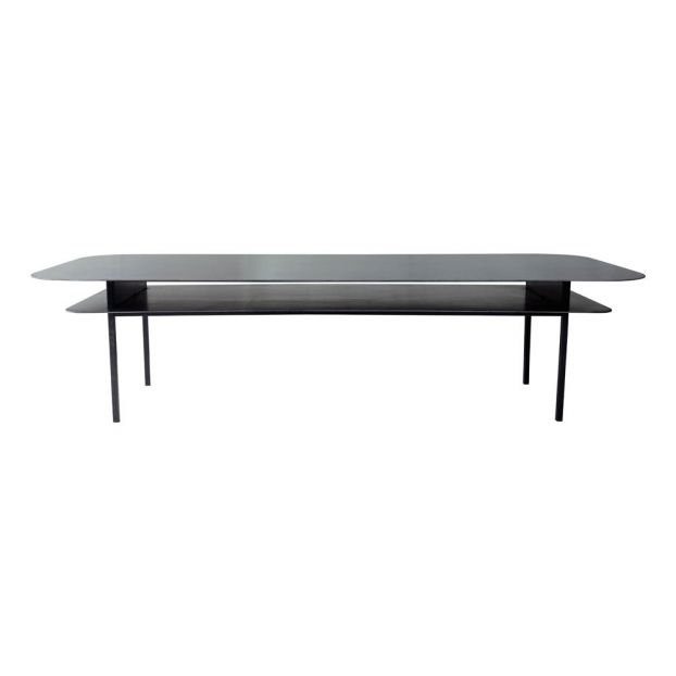 table basse tokyo rectangulaire noir
