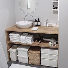 「洗面台 diy 物置」の画像検索結果