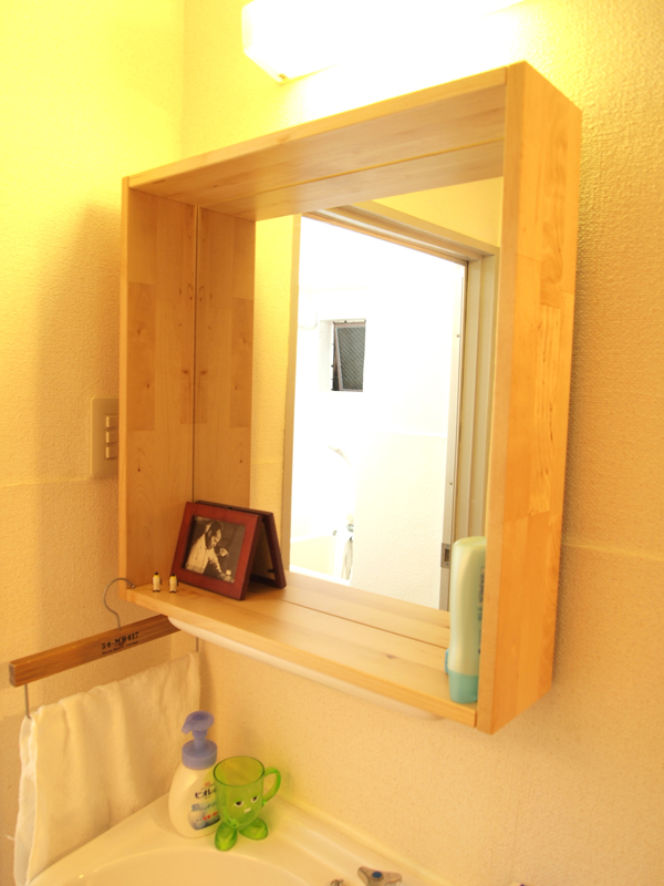 「洗面台 diy 鏡」の画像検索結果