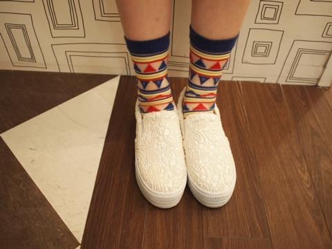 「スリッポン 靴下」の画像検索結果