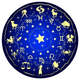 illustration of a zodiac disc