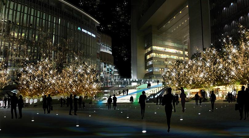 グランフロント大阪 ライトアップ에 대한 이미지 검색결과