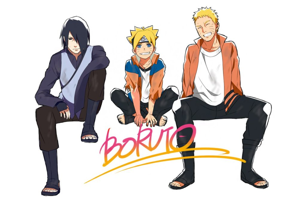 Boruto and Naruto | wall.alphacoders.com