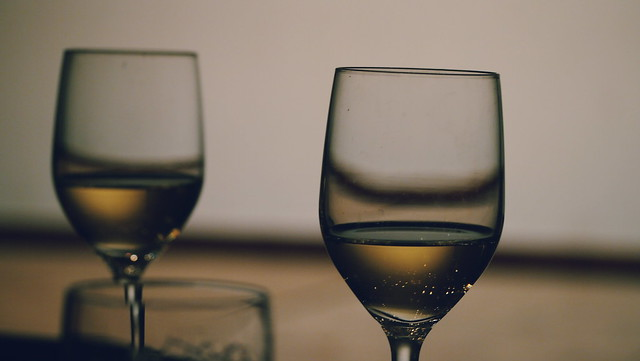 glasses and wine