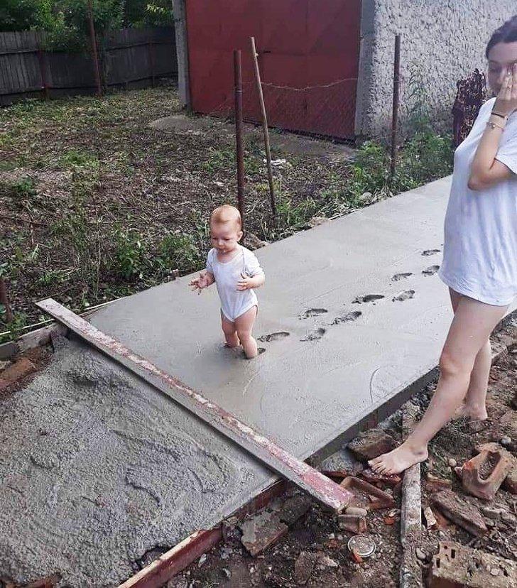 Ser pai exige nervos de aço e estas 20+ fotos provam isso