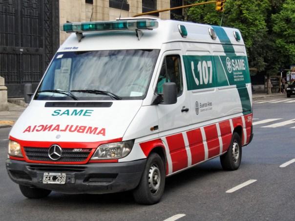 Resultado de imagen de ambulancia argentina