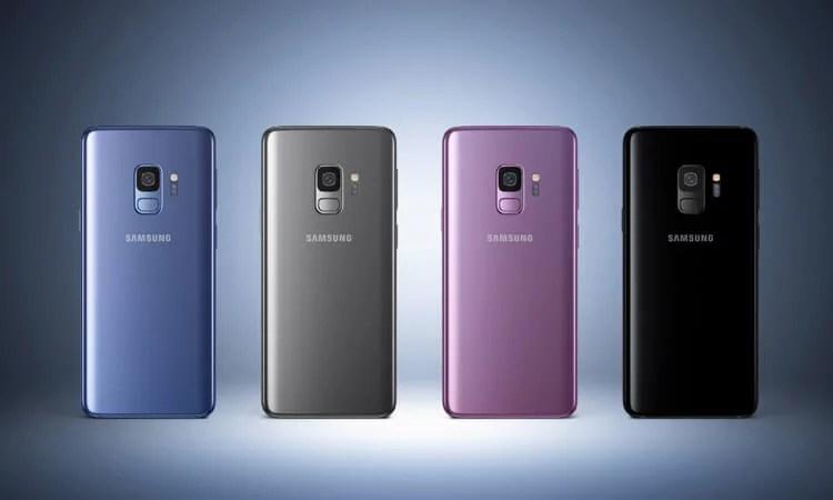 Samsung Galaxy S9 Farben Die Farbvarianten