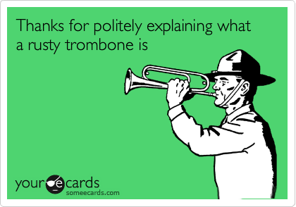 Image result for rusty trombone