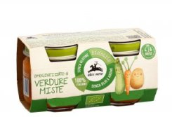 BIO-Prodotti: Omogeneizzato Bio di Verdure Miste - Alce Nero Baby
