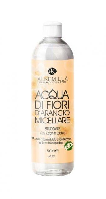Risultati immagini per Acqua di Fiori d'Arancio Micellare Struccante viso, occhi e labbra di Alkemilla Eco Bio Cosmetic sorgente natura