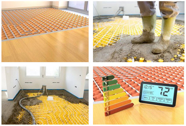Underfloor Heating Systems by Speed Screed