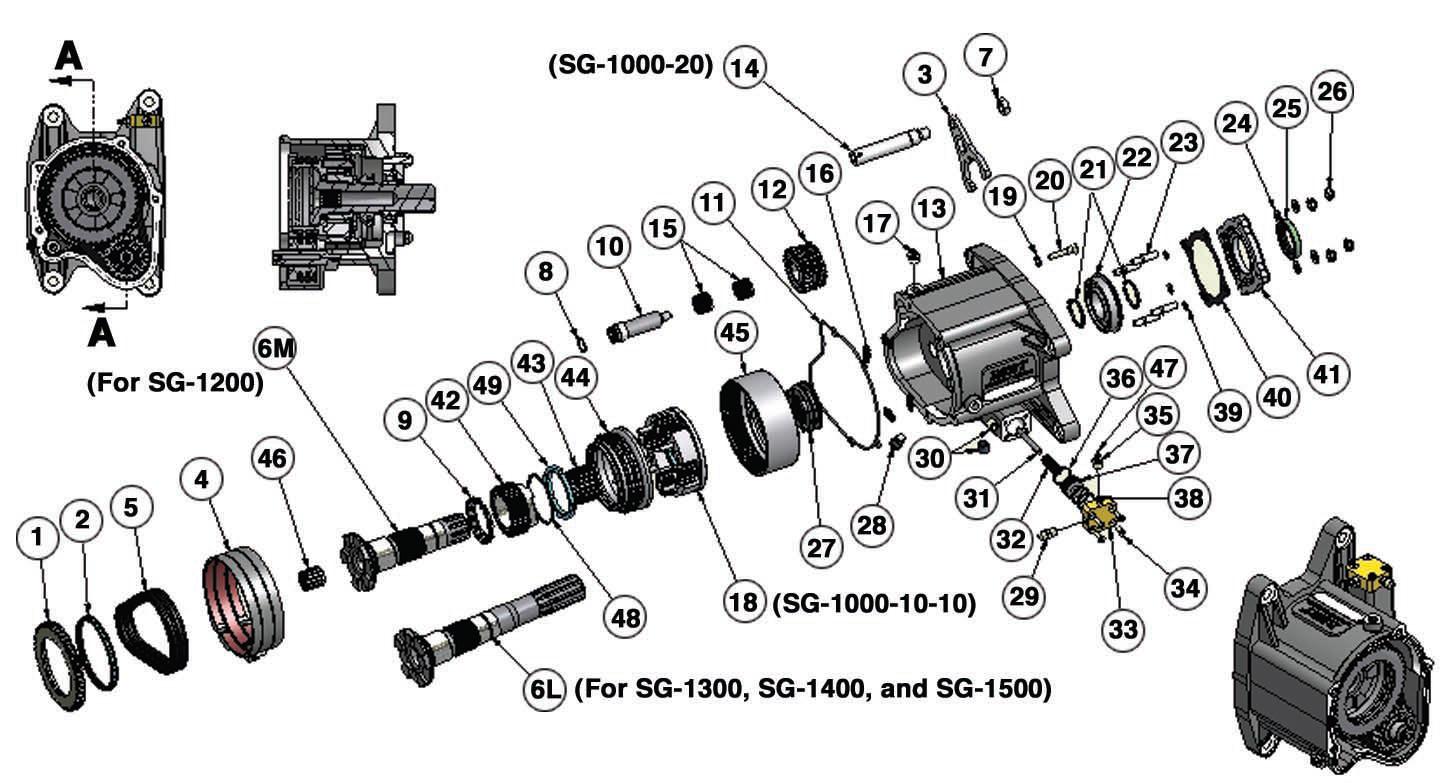Bert Transmission Main Case