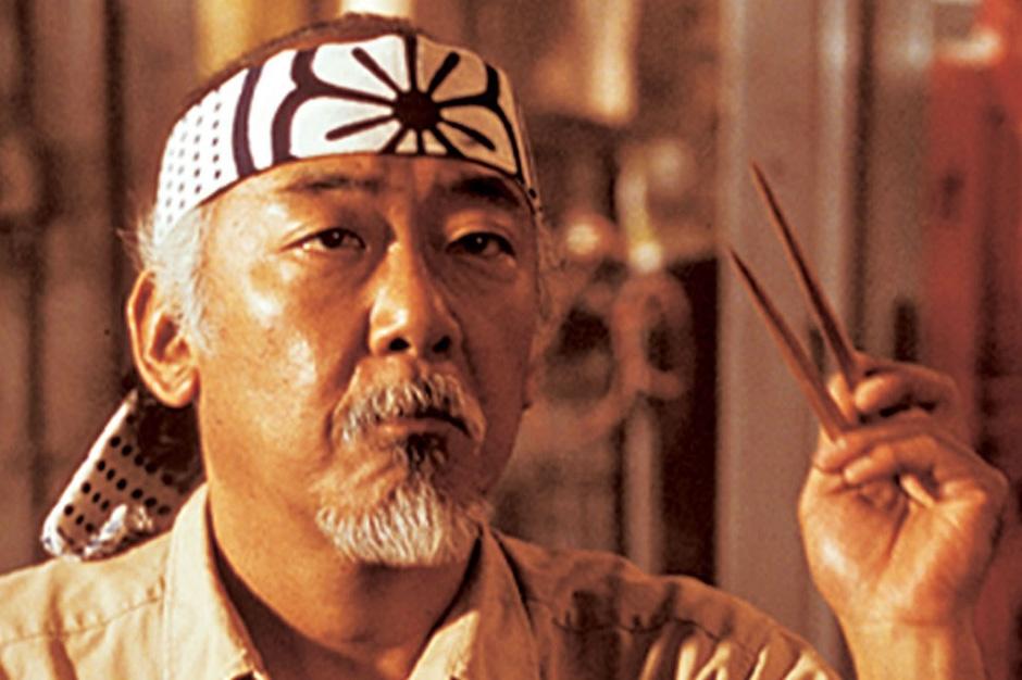 Image result for Mr. miyagi