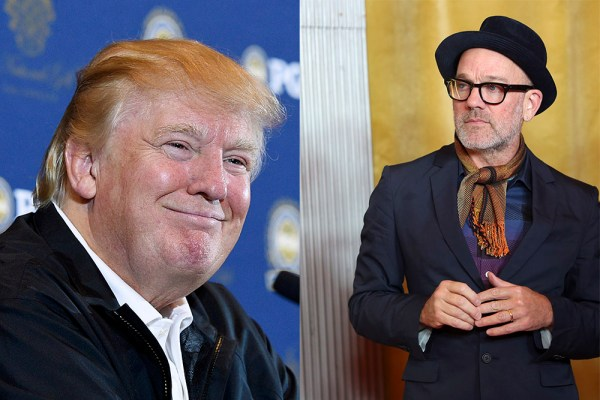 R.E.M. Hate 'Orange Clown' Donald Trump | SPIN