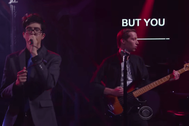 Car Seat Headrest Bring  Fill in the Blank  to  Colbert  for Their     car seat headrest