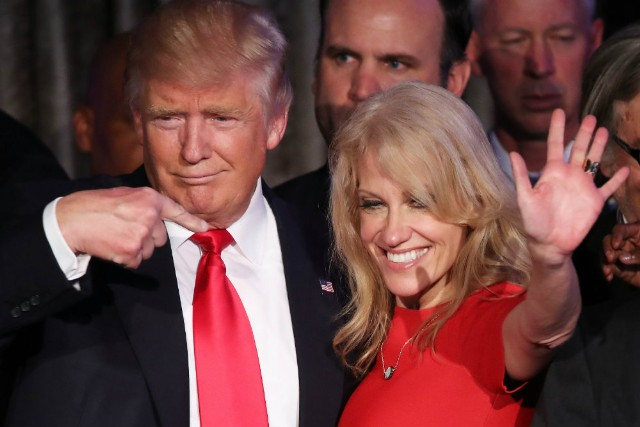 Spin Kellyanne Conway and George Conway Constantly Fight Over Trump