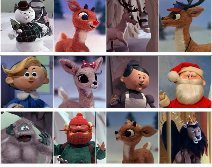 Rudolph Mrs Claus Claymation
