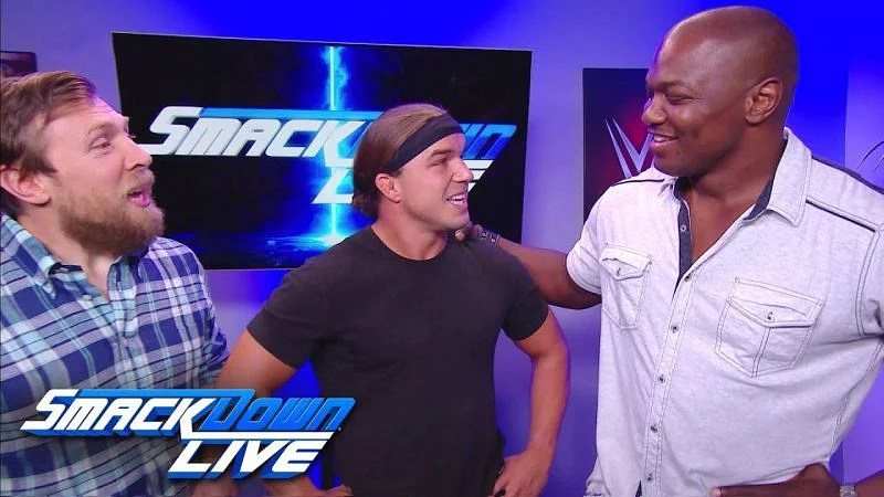 The newest tag team on Smackdown Live