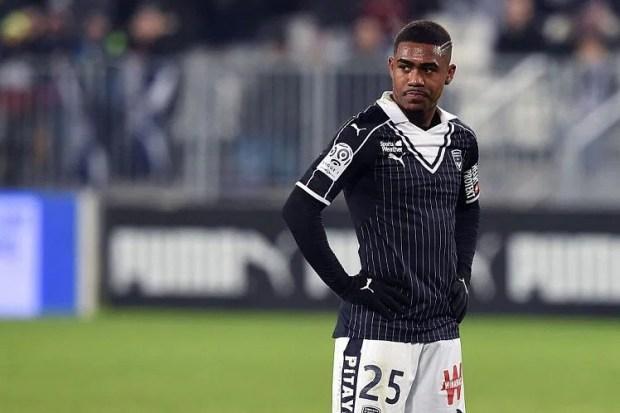 Bordeaux forward Malcom