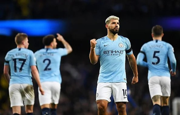 Aguero netted a record-equaling hat-trick as Manchester City romped to a 6-0 thrashing over Chelsea
