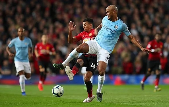 Kompany delivered a real captain's performance, despite being on a booking after 10 minutes