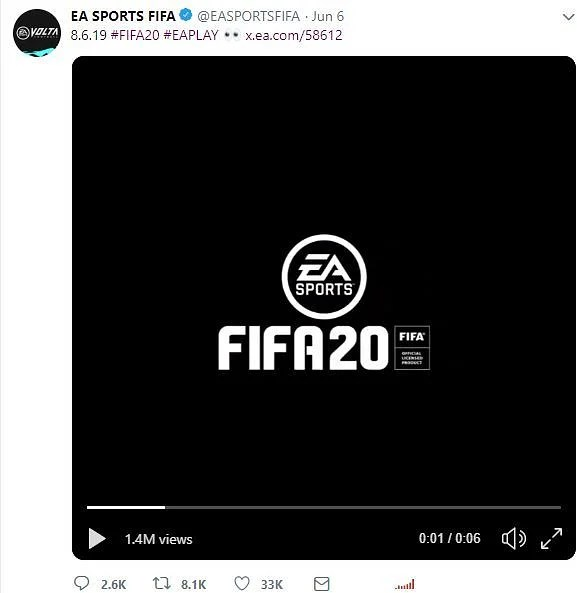 FIFA 20 Release Date Revealed