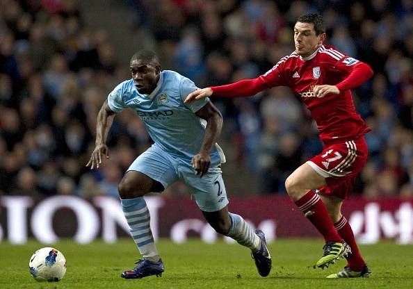 Manchester City's English defender Micah