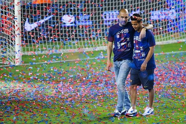 FC Barcelona Celebrates Copa Del Rey Victory