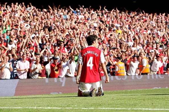 Arsenal v Manchester City - Barclays Premier League