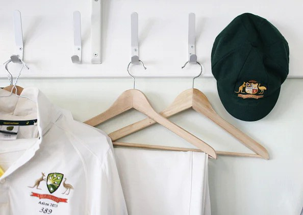 Inside the Australian Dressing Room