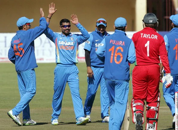 India swept hosts Zimbabwe 5-0 in their bilateral series.  (Getty Images)