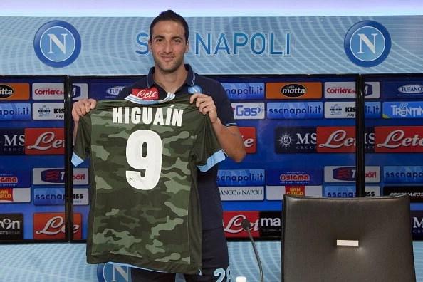 Gonzalo Higuain - star signing