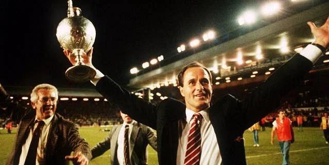 Arsenal manager George Graham