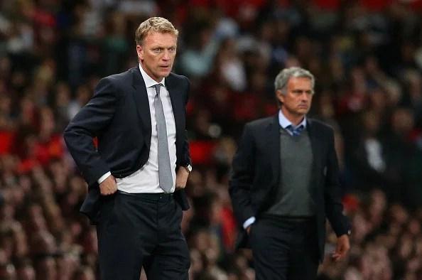 Moyes and Mourinho