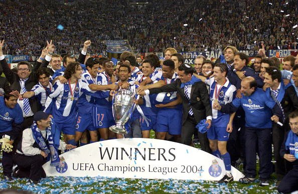 Porto - Champions League winners in 2004. Will a team from outside the big leagues ever win this trophy again?