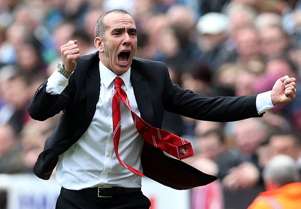 Di Canio's crazy celebration did not impress everyone