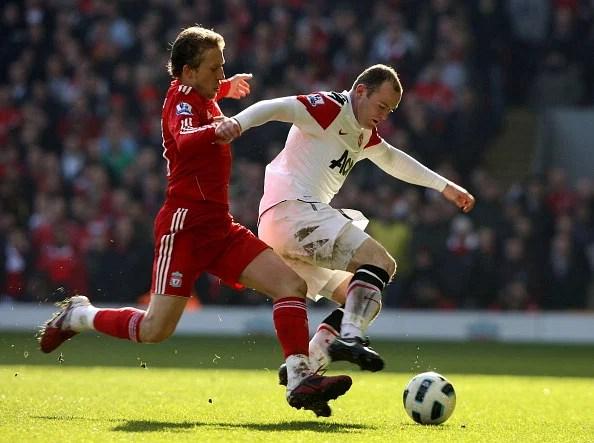 Lucas Leiva vs. Wayne Rooney will be an interesting battle