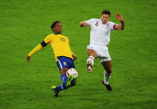 Ronaldinho and Steven Gerrard: Different styles of  greatness