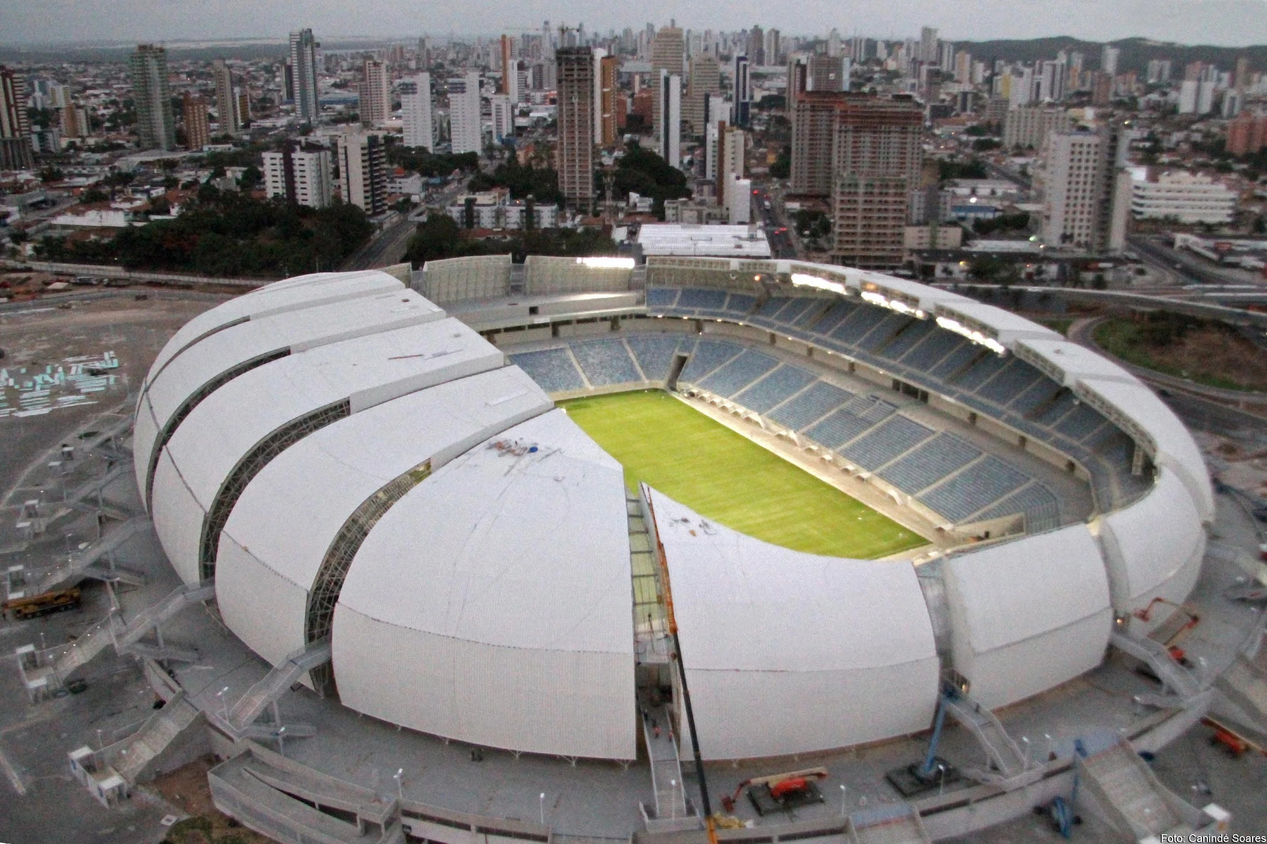 Image of the das Dunas stadium in Natal