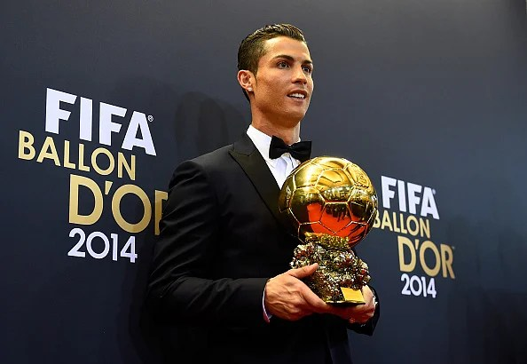 Image result for Ballon d'Or ronaldo