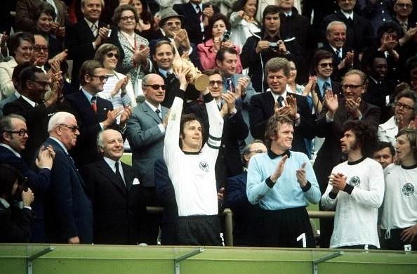 Franz Beckenbauer 1974 World Cup