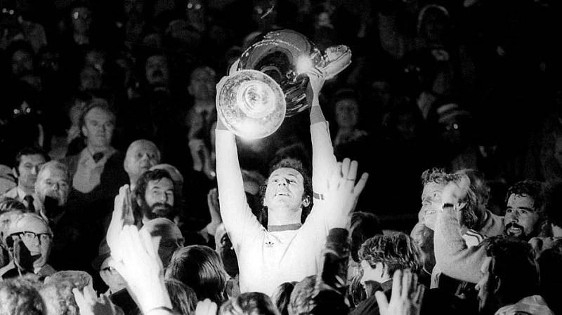 Franz Beckenbauer Champions League European Cup