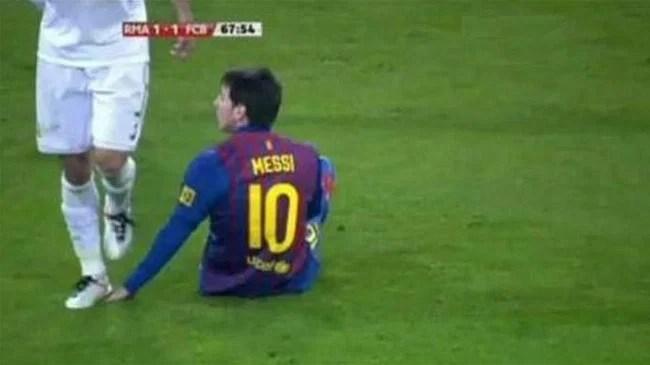 Pepe stamp Messi